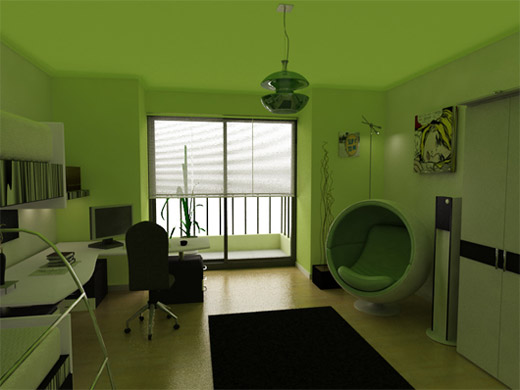 40张室内装修效果图欣赏