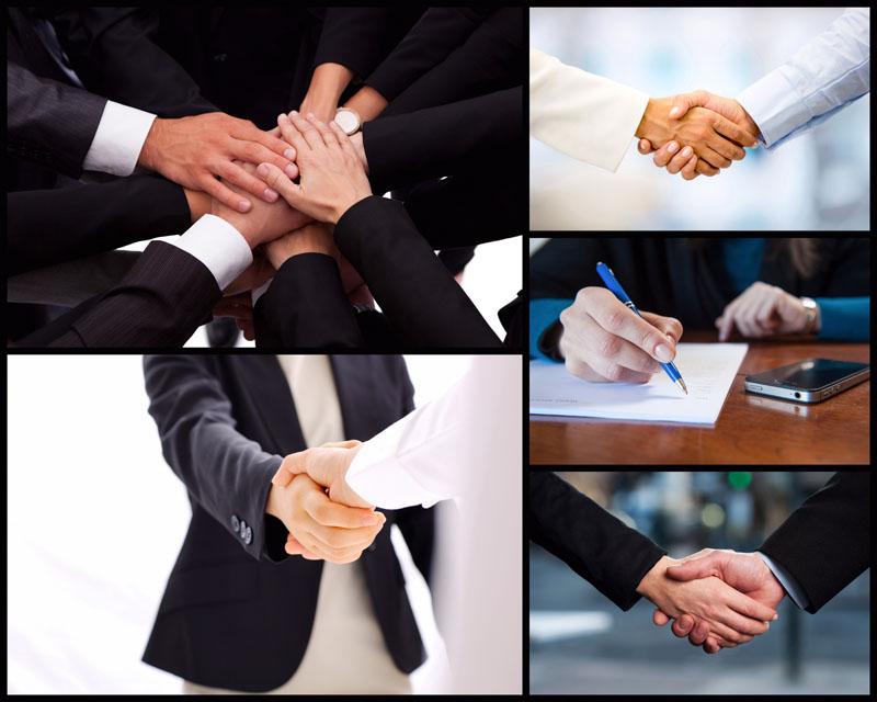 design 成功商务团队图片 高清图片jpg格式  商务合作握手动作高清