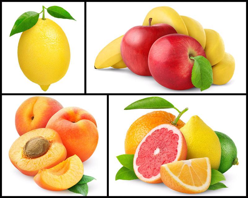 桃子苹果香蕉水果摄影高清图片 - 爱图网设计图片素材下载