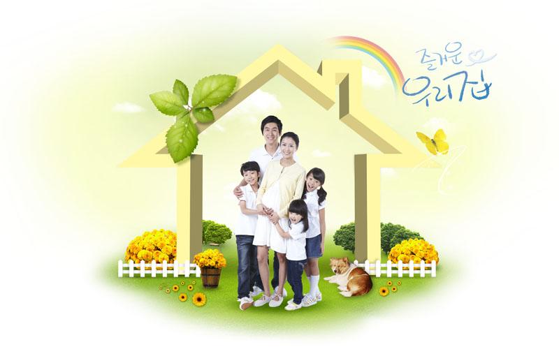 幸福家庭壁纸壁纸,幸福家庭壁纸壁纸图片-动漫