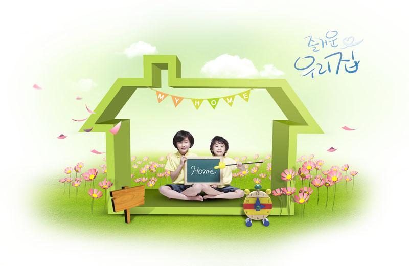 韩国一个可爱的小男孩图片