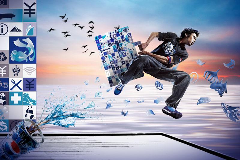大男孩服装广告宣传海报广告设计模板psd分层素材