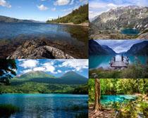 小岛海边自然风景高清图片