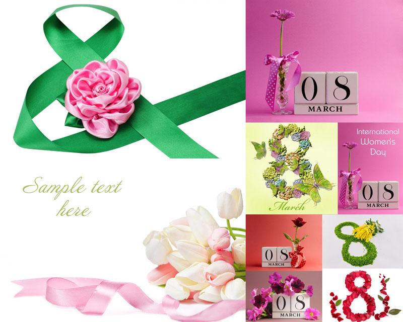 三八妇女节花朵高清图片