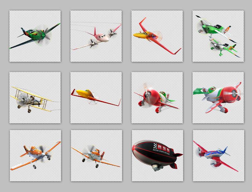 飞机总动员png图标 - 爱图网设计图片素材下载