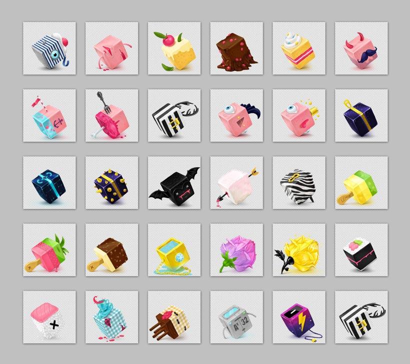 巧克力冰淇淋甜品png图标 - 爱图网设计图片素材下载