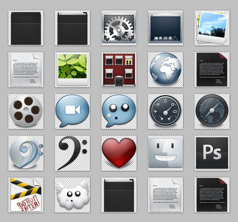 win7电脑桌面png图标 - 爱图网设计图片素材下载图片