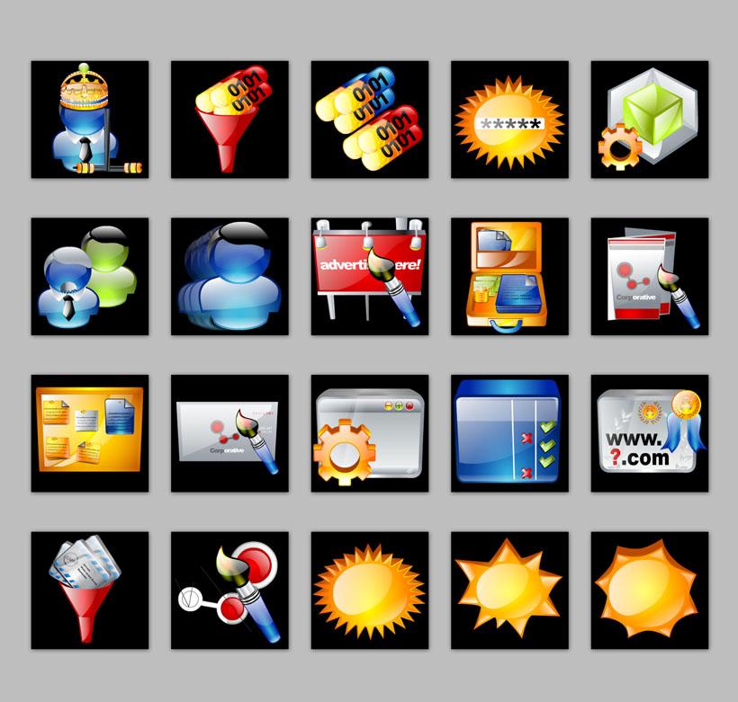 常用苹果手机png图标 创意系统软件png图标