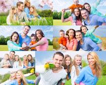 快乐幸福一家人摄影高清图片图片