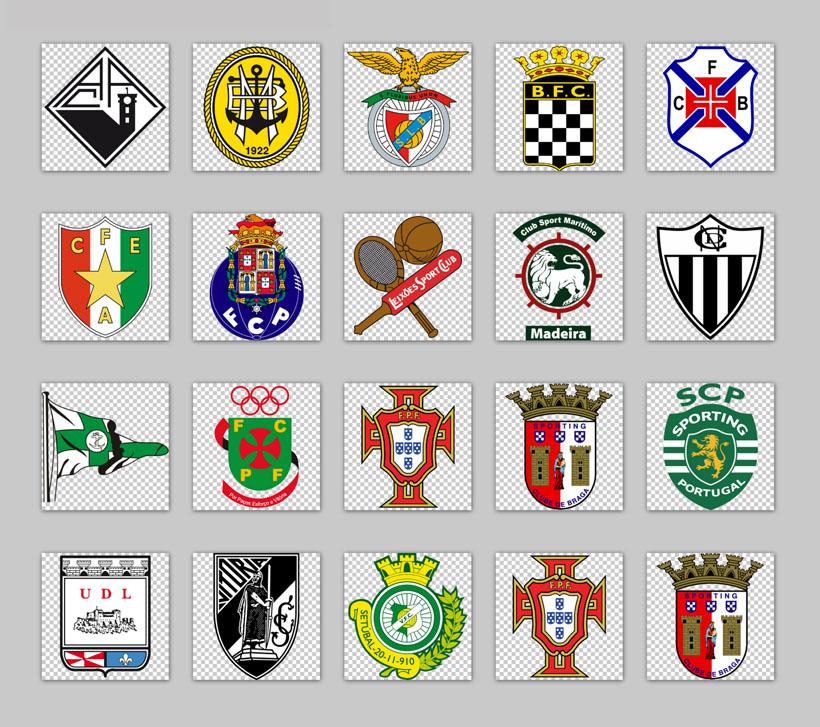 世界足球队标志大全世界著名足球队标志 足球队徽标志大全图片图片