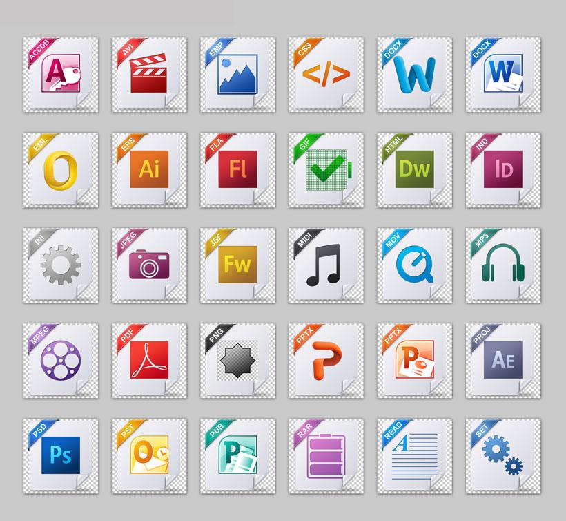 折边角标png图标 - 爱图网设计图片素材下载