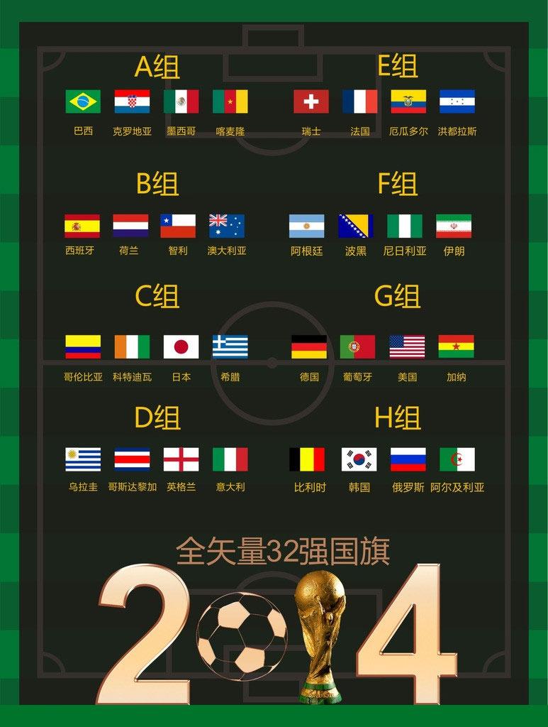 世界杯夏季促销海报设计矢量素材 国美世界杯宣传海报设计矢量素材 激