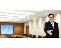 素材/成功办公室会议PSD素材