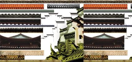 2011-04-13中式屋檐psd图片素材图片