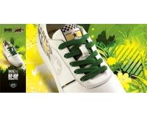 素材 鞋子/匡威鞋子广告展板PSD素材