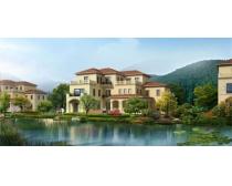 景色 风景 地产建筑 建筑效果图 中式园林 园林景观 环境设