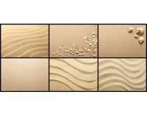 背景/大海细沙背景高清图片