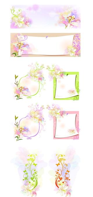 09最新花纹边框素材