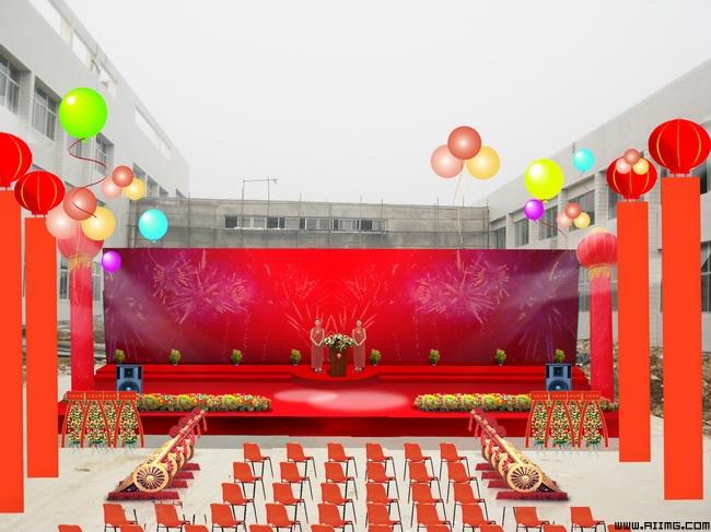 感恩节幼儿园舞台布置