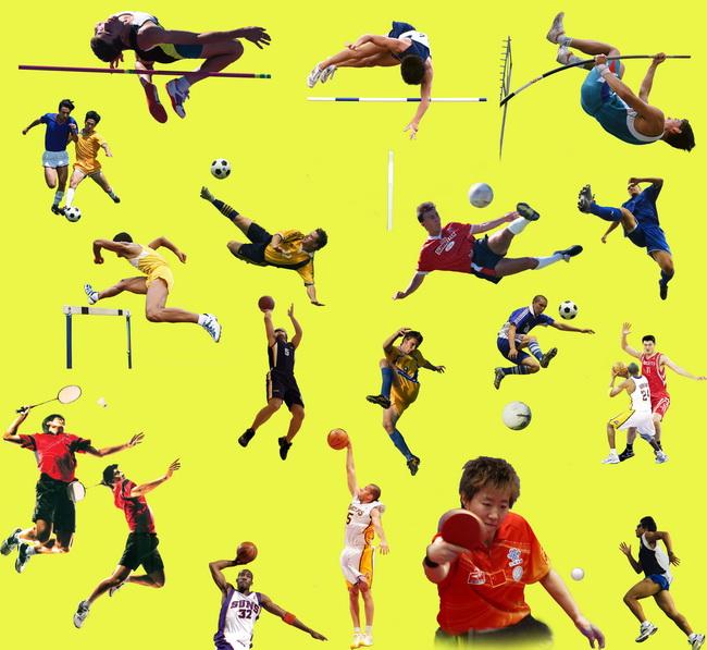 体育运动人物图片素材
