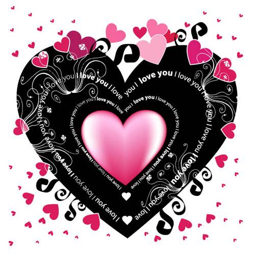 儿童剪纸卡通画矢量素材 粉玫瑰矢量素材 幼稚园四折页矢量素材 西饼