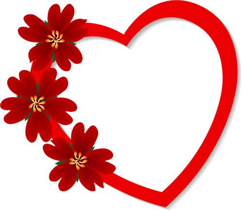 关键字: 矢量心型爱心心型花纹可爱情人节元素欧美素材矢量素材 分享