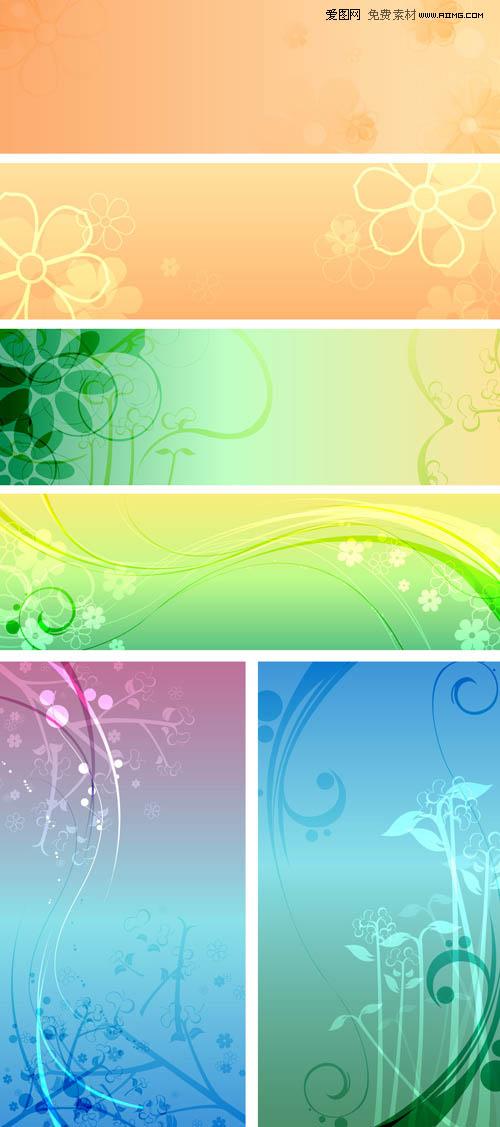ai格式,3p,含jpg预览图,关键字:花纹 花纹背景 蝴蝶 漂亮 艳丽 时尚
