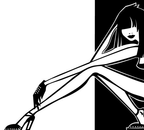 性感美腿 高跟鞋