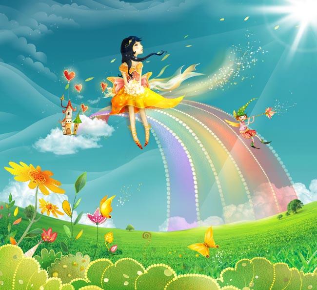 儿童乐园卡通图片 - 爱图网设计图片素材下载