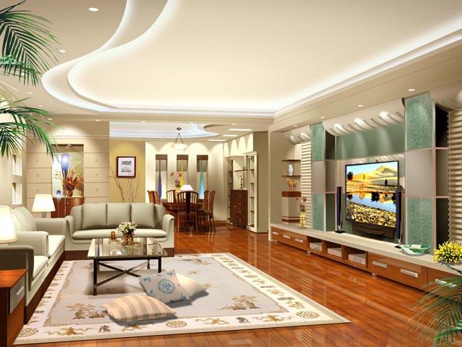突破空间装潢设计psd素材 欧式客厅装饰psd素材 室内环境展示设计效果