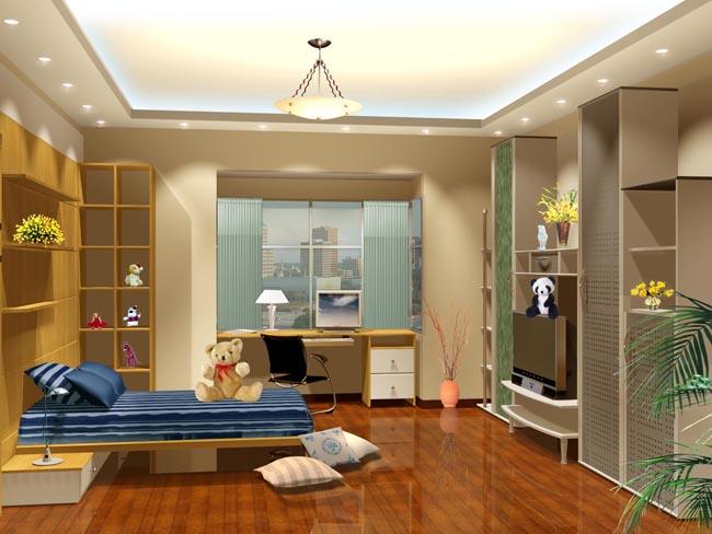 儿童房室内设计效果图