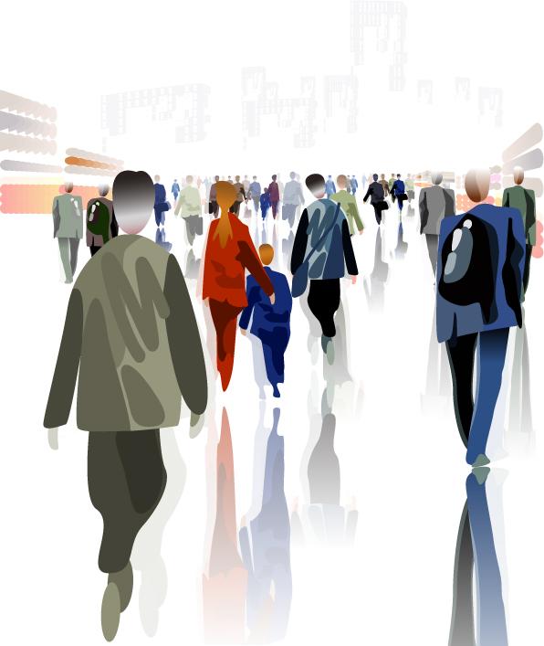 素材信息   关键字: 商务金融矢量素材商务金融人物商业人士看板矢量