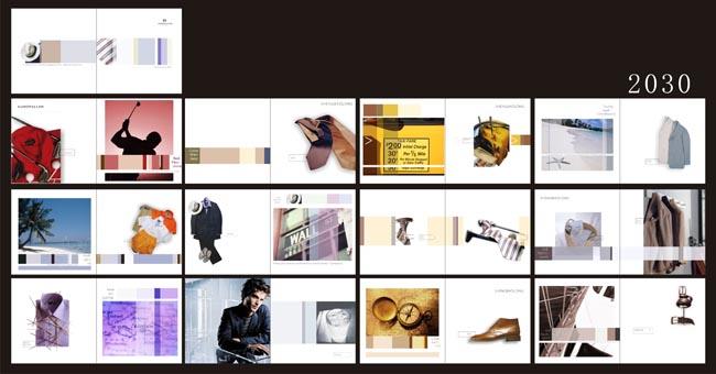 服飾畫冊畫冊設計畫冊模板畫冊封面畫冊版式畫冊排版