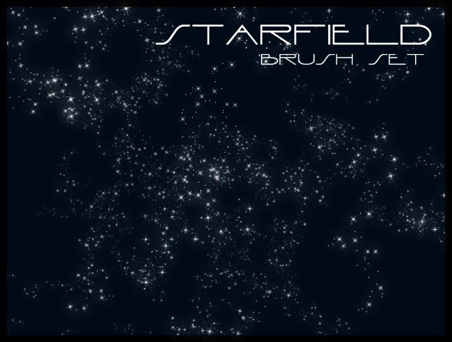 星空背景笔刷 - 爱图网设计图片素材下载