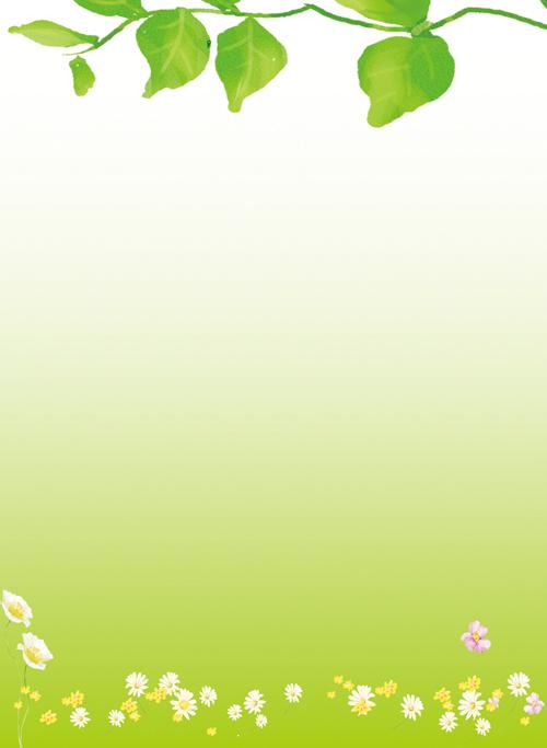 绿色清新环保背景设计psd素材 绚丽科技展板背景设计psd素材 快乐卡通
