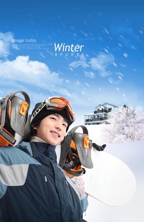 冬天滑雪图片5 - 爱图网设计图片素材下载