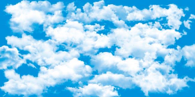 50多款云朵psd素材