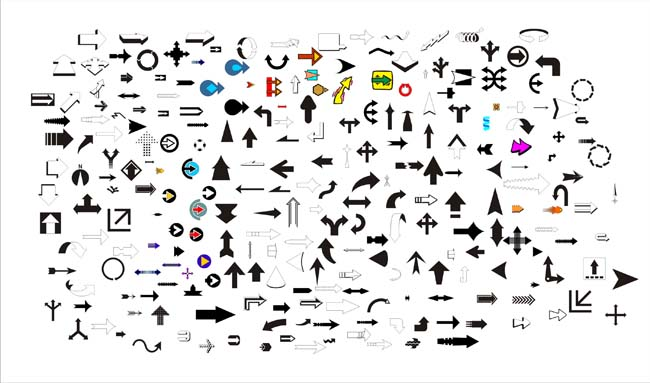 箭头矢量图 - 爱图网设计图片素材下载