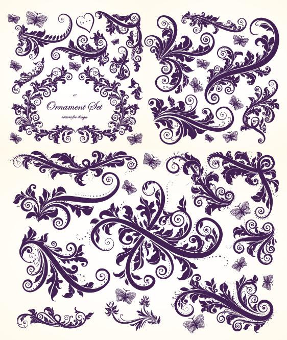 面具花纹手绘图案设计