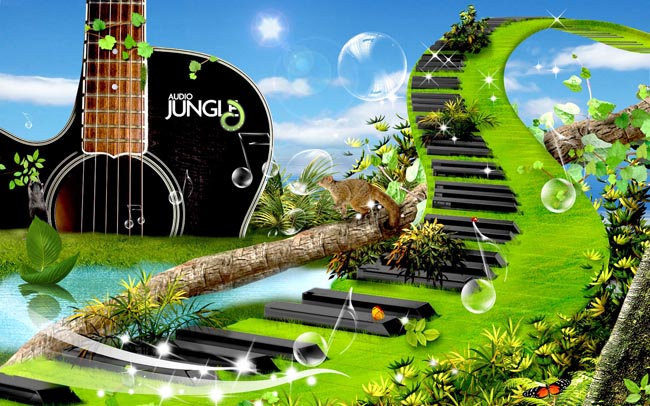 音乐世界景观设计