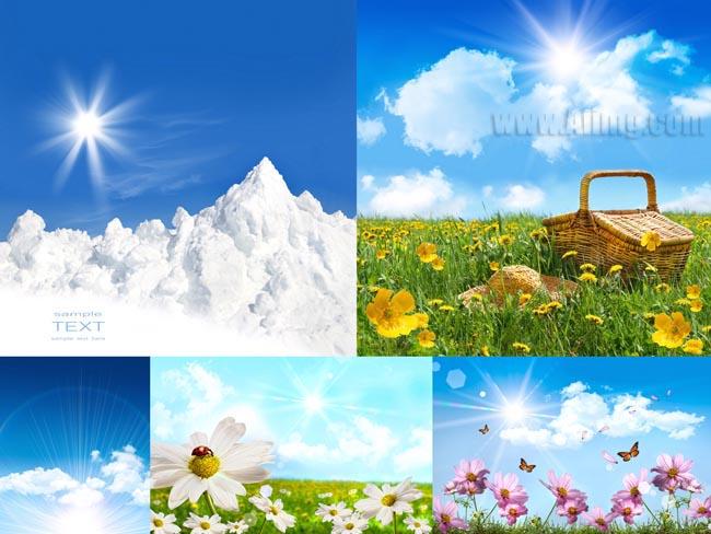 梦幻风景高清图片(5p) - 爱图网设计图片素材下载