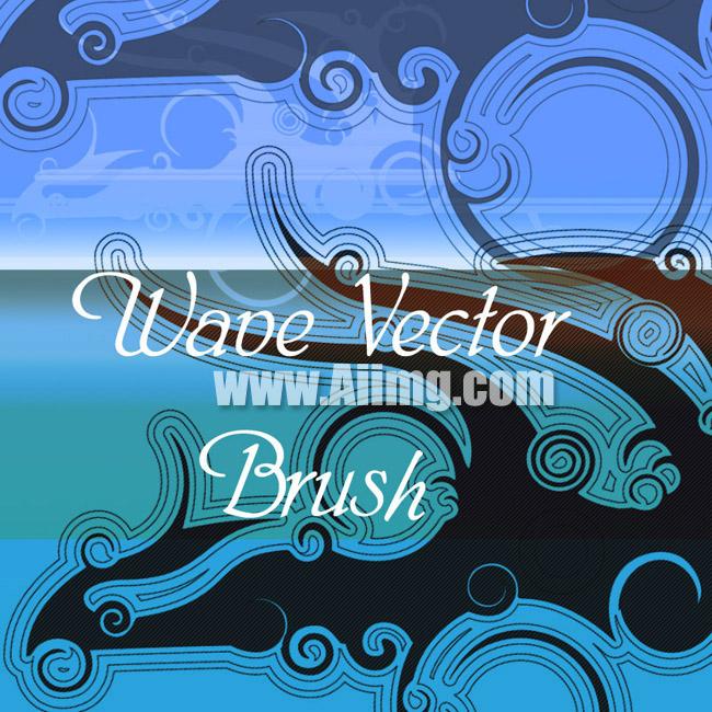 欧式水纹logo素材