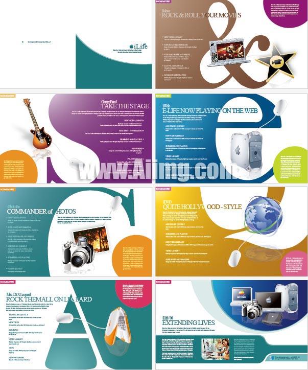 国外数码产品画册 - 爱图网设计图片素材下载