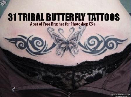 花纹纹身笔刷 - 爱图网设计图片素材下载
