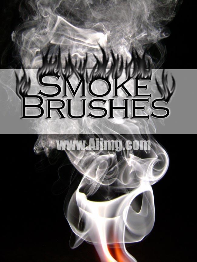 烟效 ps笔刷 爱图网设计图片素材下载