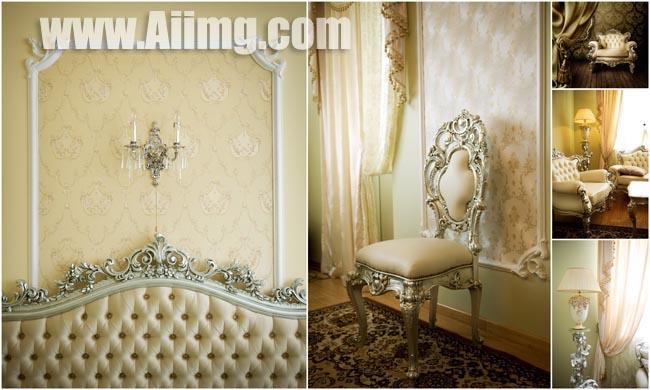 5张豪华室内装饰图片 建筑家居图片素材 高清图片设计素材