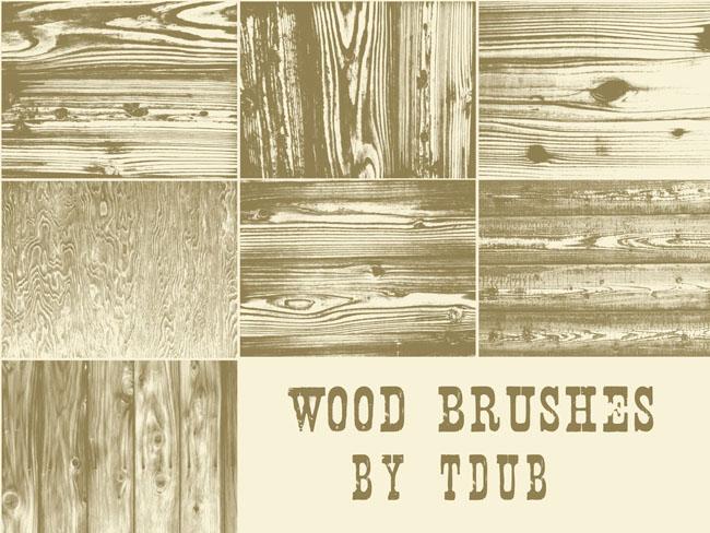 木条纹ps笔刷