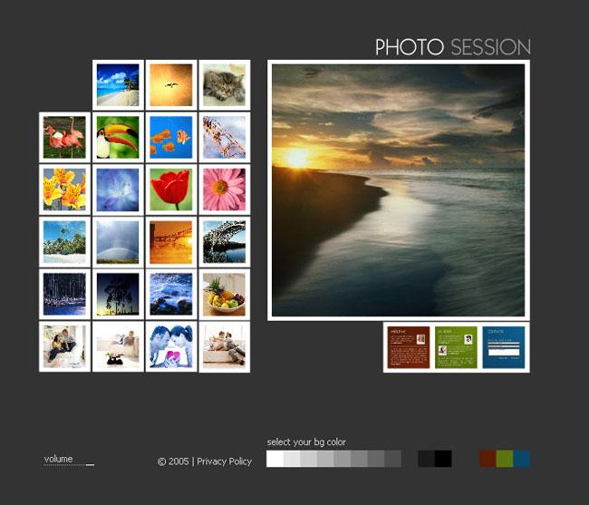 关键字: 风景画图片模板生活图片英文网页内容页按钮最终页灰色背景
