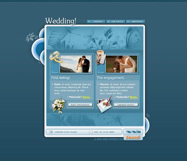 品质风格个人网页模板