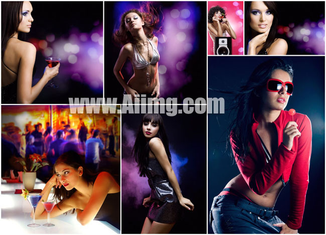 7张酒吧美女高清图片